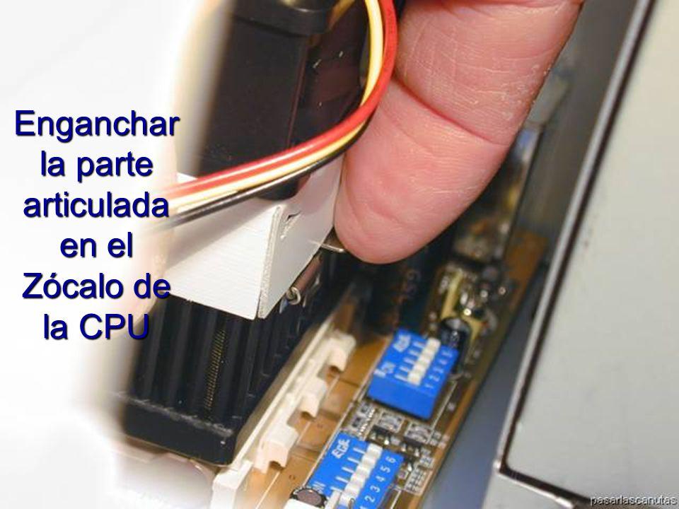 ENSAMBLAJE Y MANTENIMIENTO DE COMPUTADORAS ENSAMBLAJE DE COMPUTADORA UNIVERSIDAD CATOLICA BOLIVIANA SAN PABLO GESTIÓN - 2006 Parte articulada del disipador