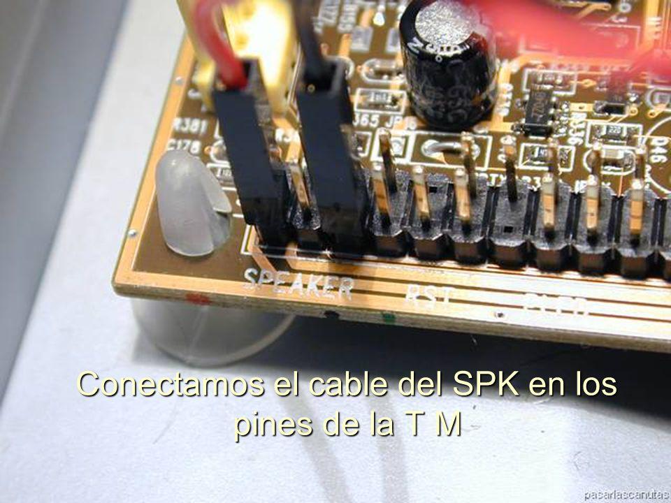 ENSAMBLAJE Y MANTENIMIENTO DE COMPUTADORAS ENSAMBLAJE DE COMPUTADORA UNIVERSIDAD CATOLICA BOLIVIANA SAN PABLO GESTIÓN - 2006 Conectamos el altavoz del case
