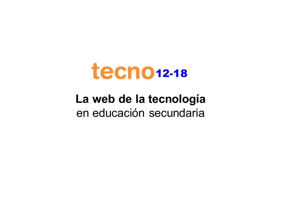 Introducción La web educativa www.tecno12-18.com tiene como objetivo suministrar contenidos educativos para la enseñanza de la tecnología en educación secundaria, fundamentalmente en la ESO.