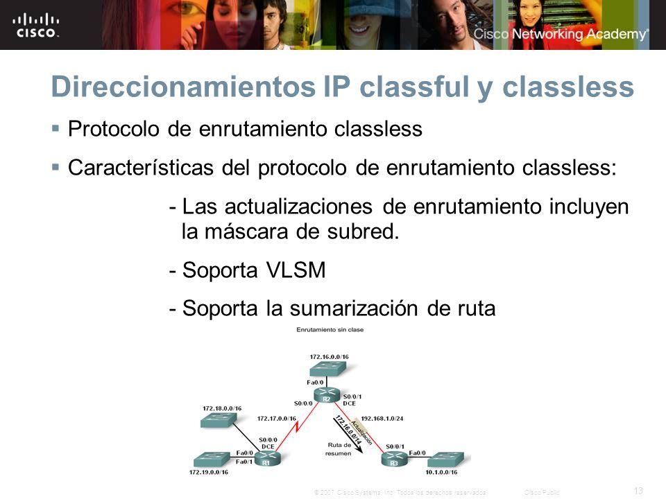 13 © 2007 Cisco Systems, Inc.