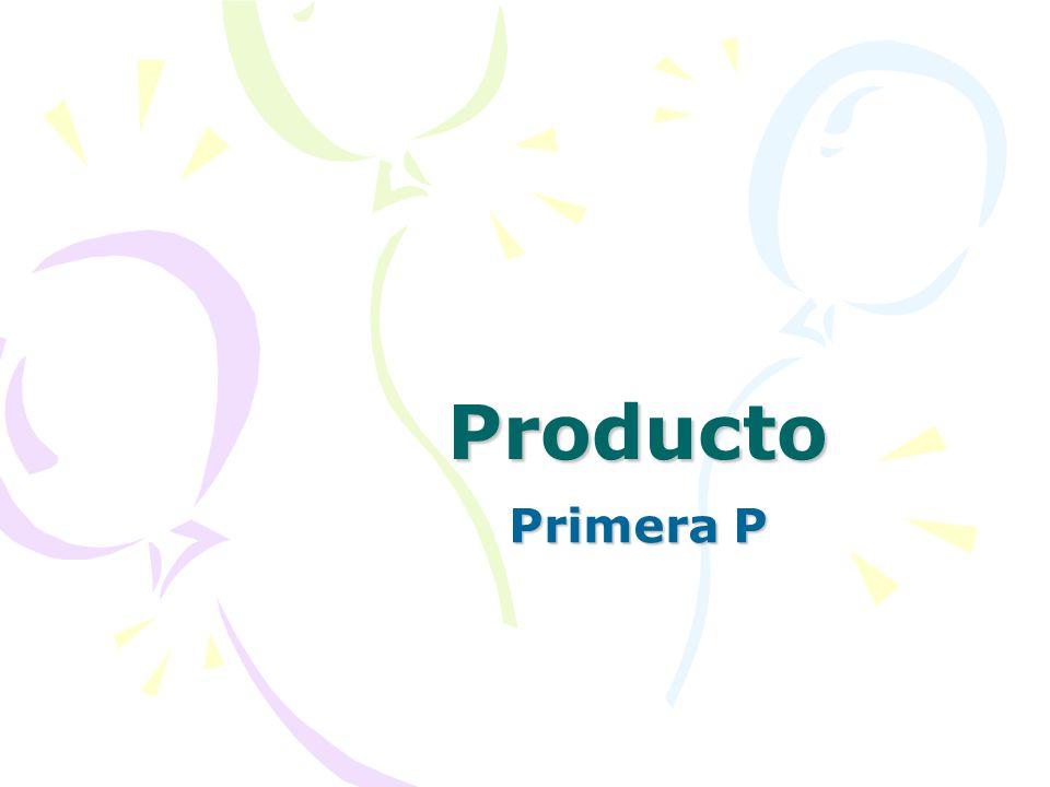 La combinación de los cuatro elementos primarios que componen el programa de mercadotecnia de una compañía se denomina mezcla de mercadotecnia, comúnm