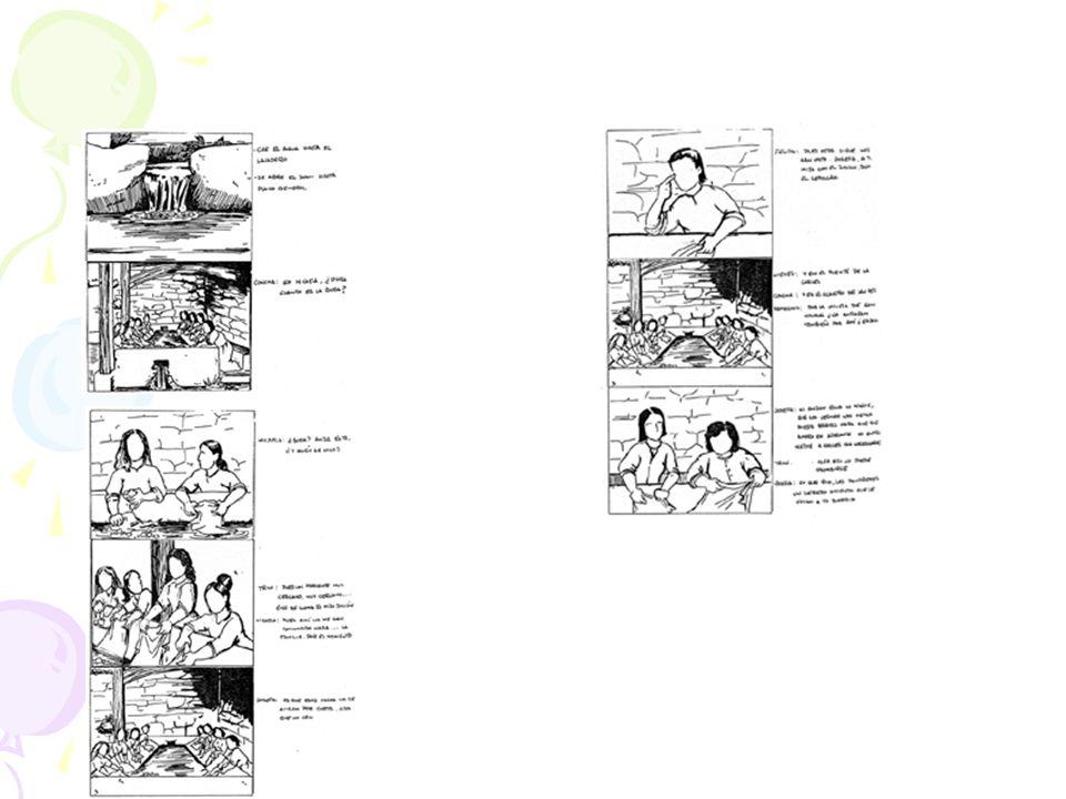 Ventana Storyboard A. Fotograma de muestra de un clip B. Nº de clip en la secuencia C. Nombre de fichero D. Duración del clip E. Comentarios F. Flecha