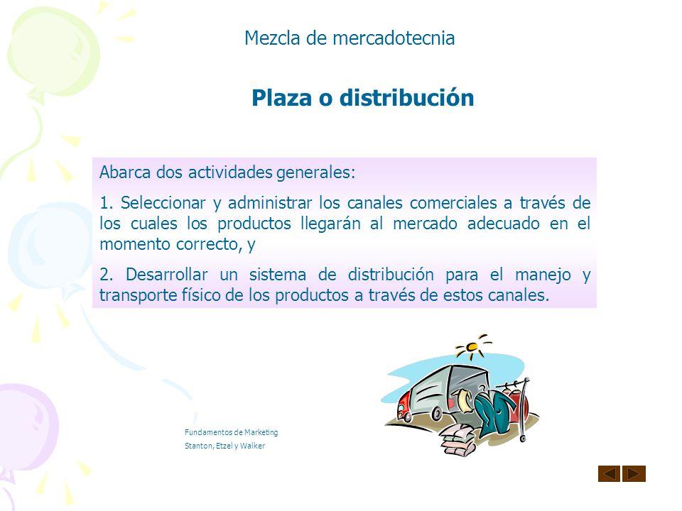 Plaza (Distribución) Cuarta P