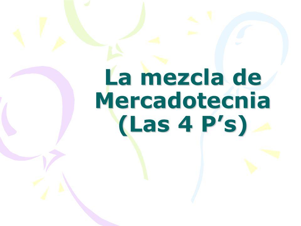 Clasificación de los productos Mezcla de mercadotecnia SERVICIOS PROFESIONALES Algunos ejemplos de estos son: administrativos, atención médica o dental, educativos, de asesoría, etc.