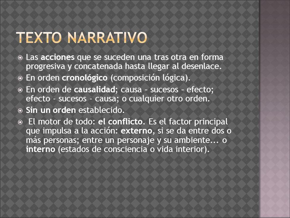 Para crear un texto narrativo Para redactar una pequeña historia aconsejamos seguir los siguientes pasos: 1.