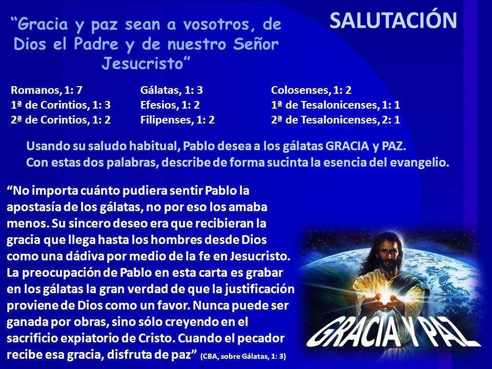Gálatas, 1: 1-5, 13-24 Los judaizantes que predicaban en Galacia decían de Pablo que no era un apóstol con la misma autoridad de los doce.