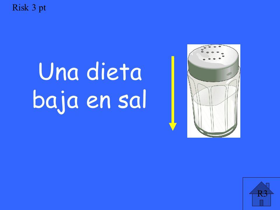 R3 Risk 3 pt Una dieta baja en sal
