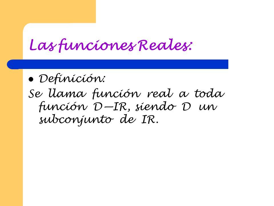 Notación funcional : Se usa una sola letra como f o g o F para denominar una función. Entonces, f (x) que se lee f de x o f en x, designa el valor que
