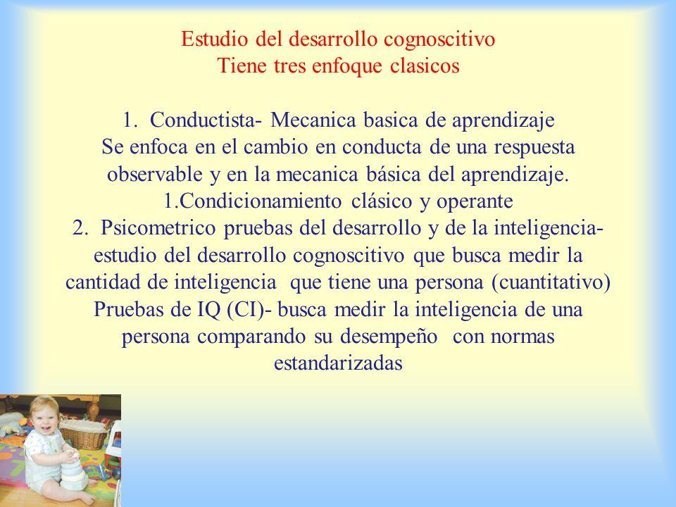 DESARROLLO COGNOSCITIVO DE LA INFANCIA O PRIMEROS PASOS Son los cambios y la estabilidad en las capacidades mentales, como el aprendizaje, la memoria, el lenguaje, el pensamiento, el razonamiento moral y la creatividad.