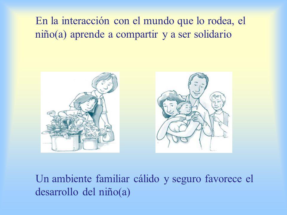 En la interacción con el mundo que lo rodea, el lenguaje tiene importancia fundamental para el niño(a) En la interacción con el mundo que lo rodea, el niño(a) aprende a ser independiente