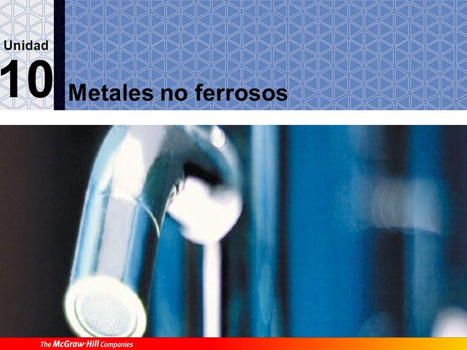 Metales no ferrosos 10 Unidad