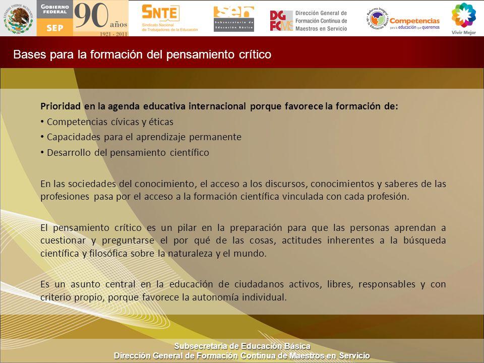 Subsecretaría de Educación Básica Dirección General de Formación Continua de Maestros en Servicio ACTIVIDAD 1: Leer texto p.