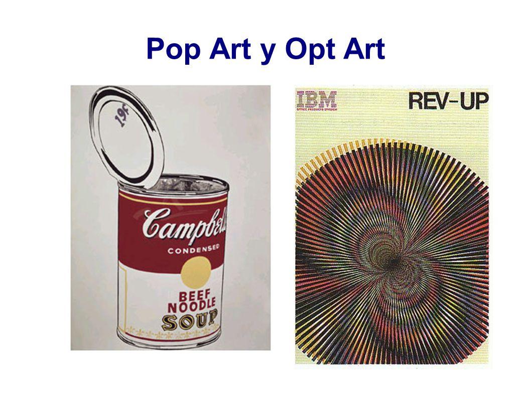 Pop Art y Opt Art