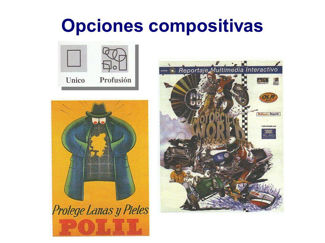 Opciones compositivas