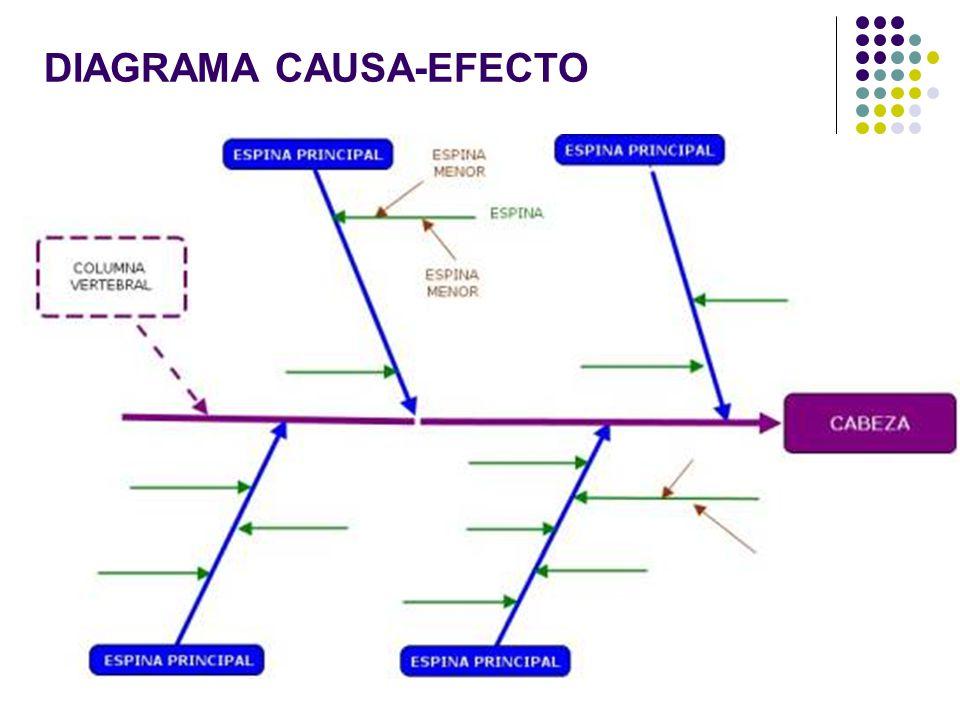 4 DIAGRAMA CAUSA-EFECTO
