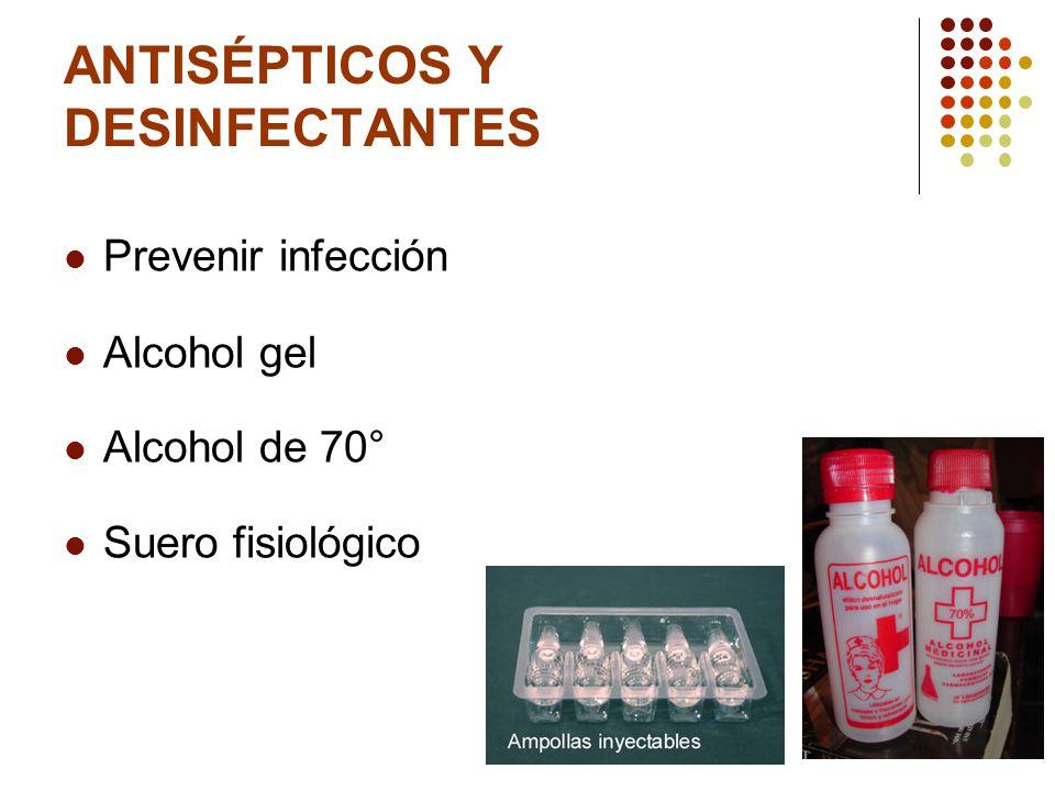 MEDICAMENTOS Analgésicos: Acido Acetilsalicílico Paracetamol Suero de rehidratación oral.