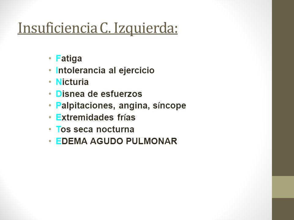 Insuficiencia C.
