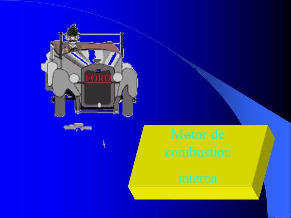 Motor de combustion interna FORD