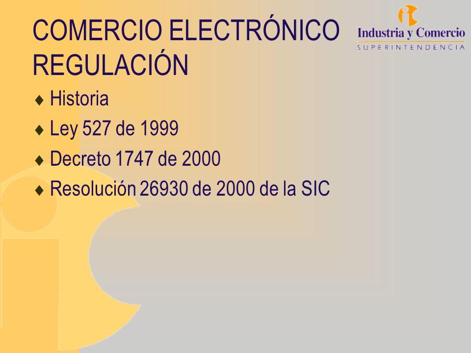 CNUDMI (UNCITRAL) C omisión de las N aciones U nidas para el D erecho M ercantil I nternacional (1966) Ley Modelo de comercio electrónico de 1996 (1984) Colombia es miembro desde 1 de junio 1998 (1994) Proyecto de Ley Modelo de Firma Electrónica.