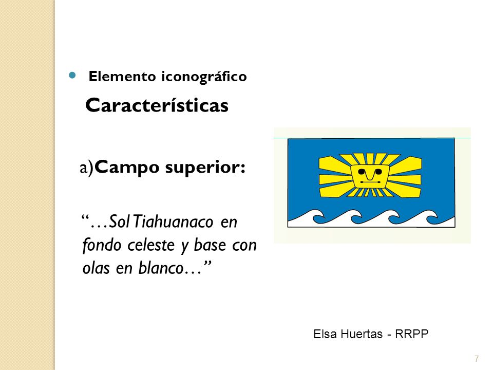 8 b) Campo inferior derecho: …alpaca blanca en fondo rojo… Elsa Huertas - RRPP