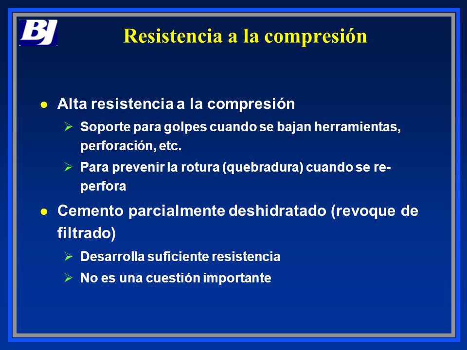 Resistencia a la compresión l Alta resistencia a la compresión ØSoporte para golpes cuando se bajan herramientas, perforación, etc. ØPara prevenir la