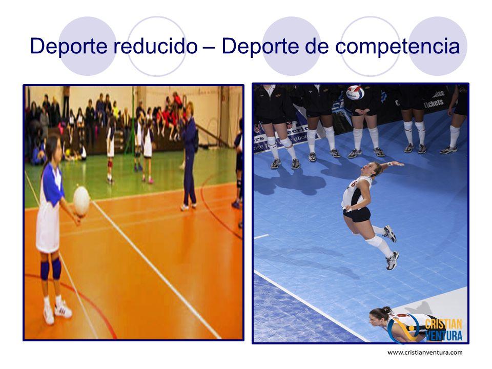 Deporte reducido – Deporte de competencia