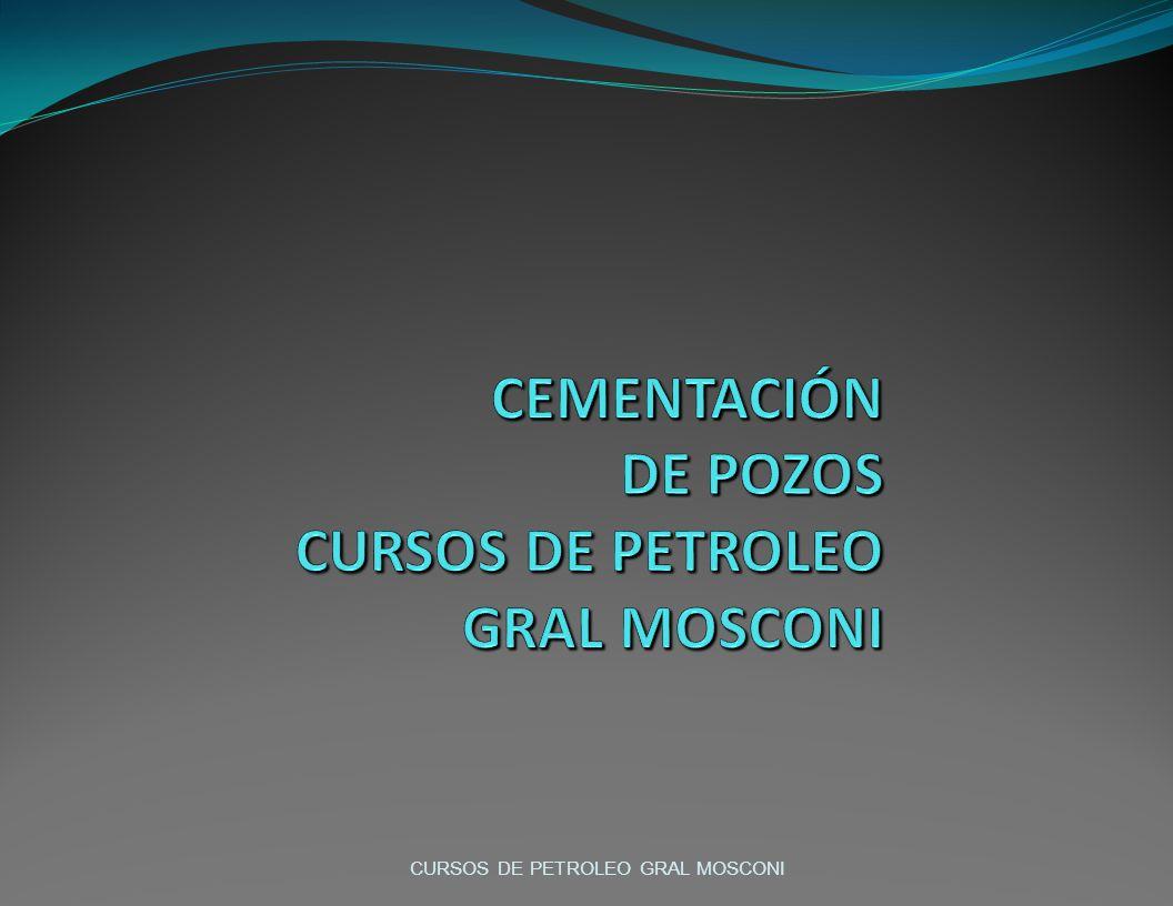 CURSOS DE PETROLEO GRAL MOSCONI