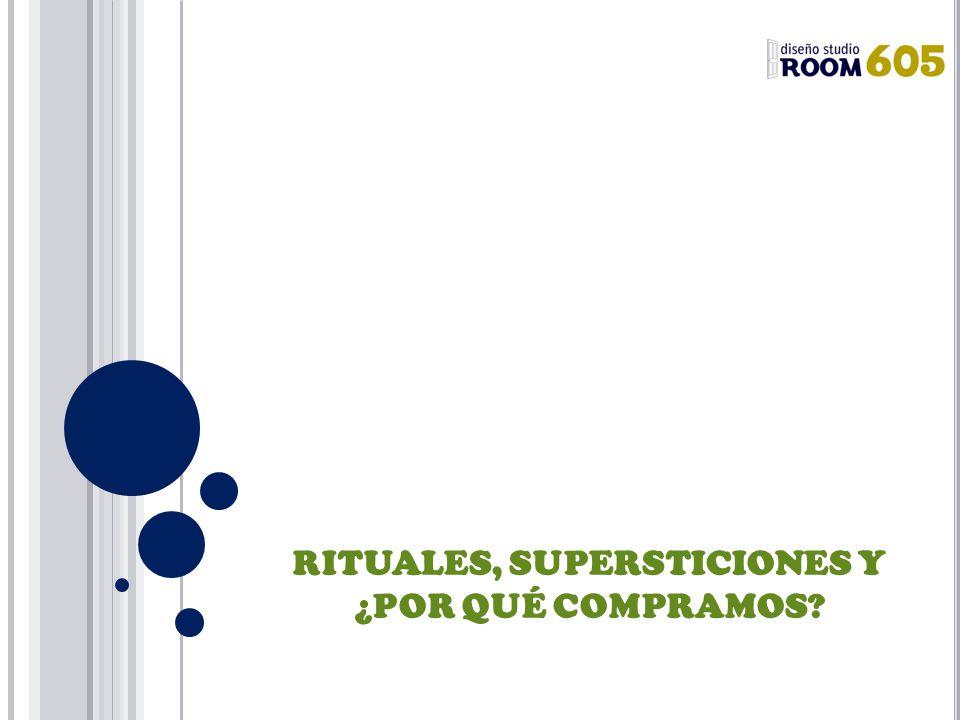 RITUALES, SUPERSTICIONES Y ¿POR QUÉ COMPRAMOS?