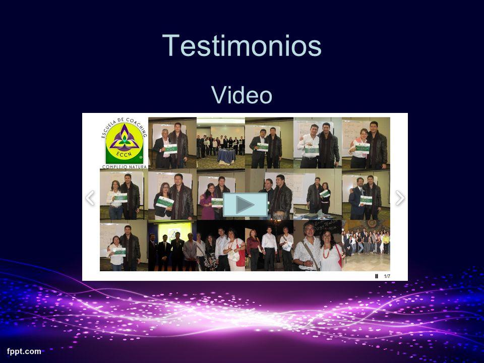 Testimonios Video
