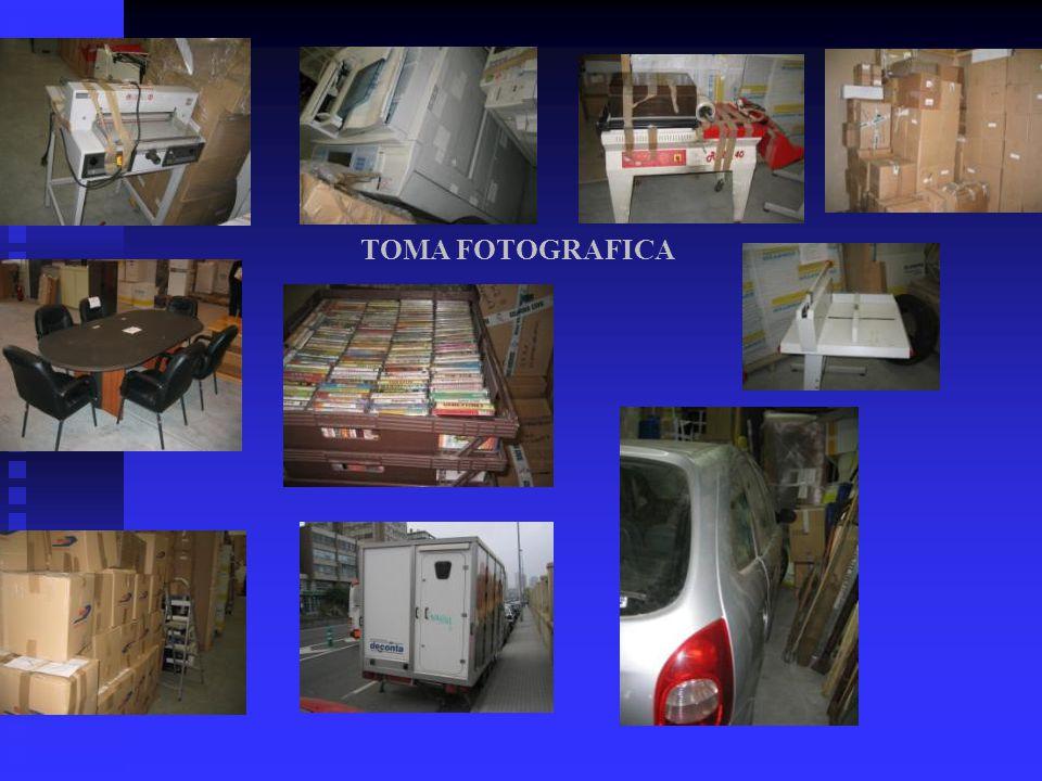TOMA FOTOGRAFICA