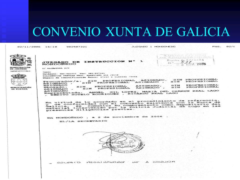 CONVENIO XUNTA DE GALICIA