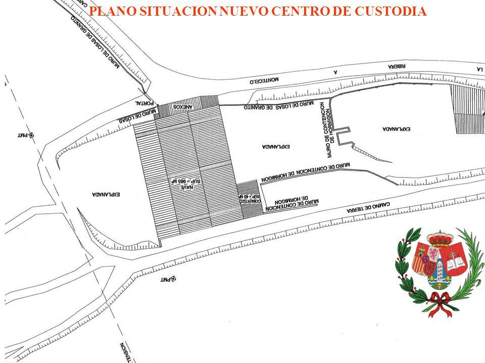 PLANO SITUACION NUEVO CENTRO DE CUSTODIA