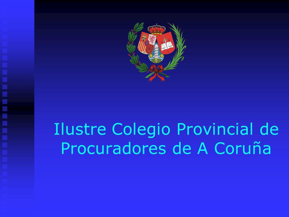 Ilustre Colegio Provincial de Procuradores de A Coruña