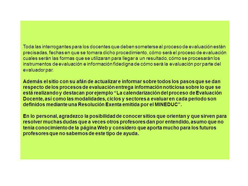 COMENTARIOS…… CONSTANTE REFLEXIÓN ….