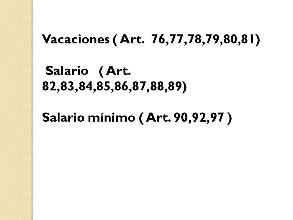 Participación de los trabajadores en las Utilidades de las empresas (Art.