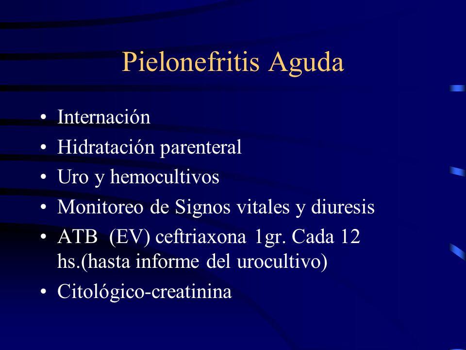 Profilaxis Los 2 primeros Trimestre Nitrofurantoina 100 mg/24 Hs.
