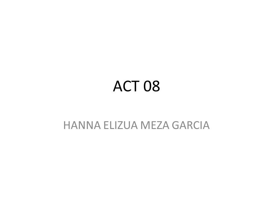 ACT 08 HANNA ELIZUA MEZA GARCIA