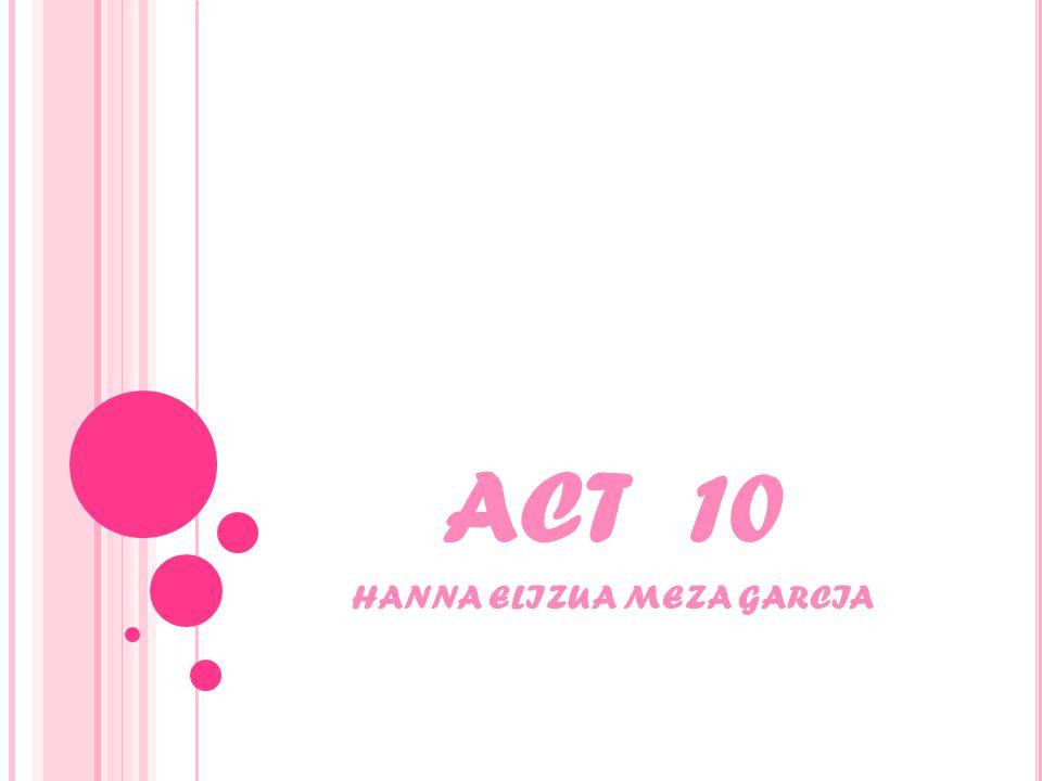ACT 10 HANNA ELIZUA MEZA GARCIA