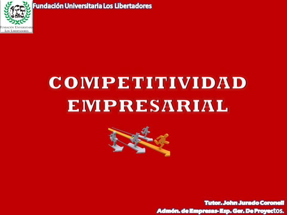 DIAMANTE DE PORTER APOYOS INSTITUCIONALES Y/O PUBLICOS OPORTUNIDADE S OPORTUNIDADE S ESTRATEGIA EMPRESARIAL ESTRATEGIA EMPRESARIAL ESTRUCTURA Y COMPETENCIA ESTRUCTURA Y COMPETENCIA FACTORES DE DEMANDA: CONOCIMIENTO DEL MERCADO FACTORES DE OFERTA Innovación INTEGRACIÓN CON EMPRESAS RELACIONADAS