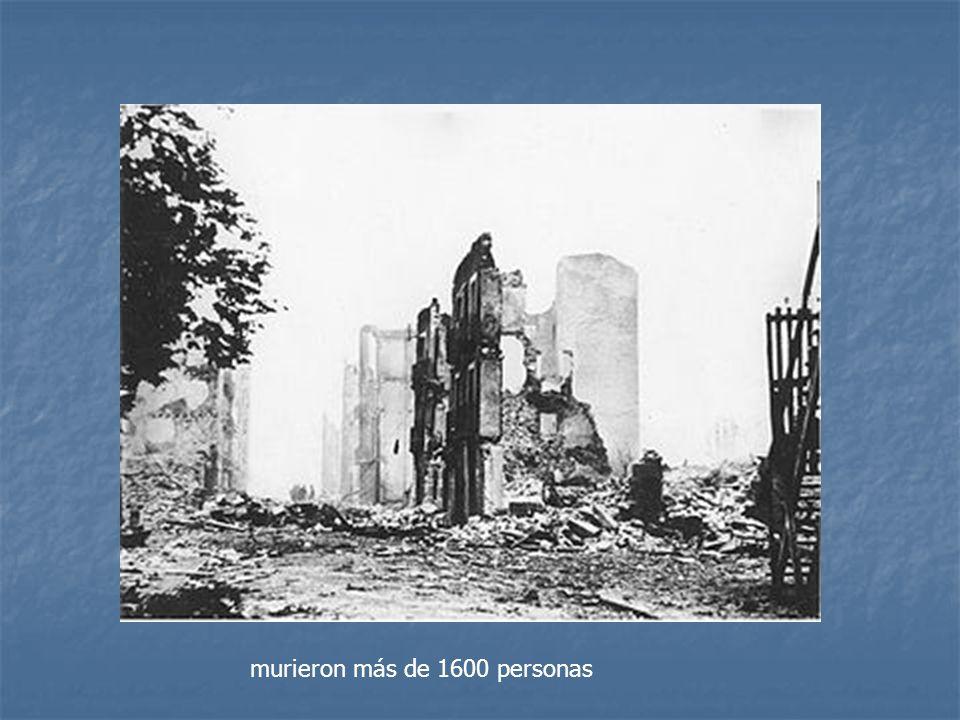 murieron más de 1600 personas
