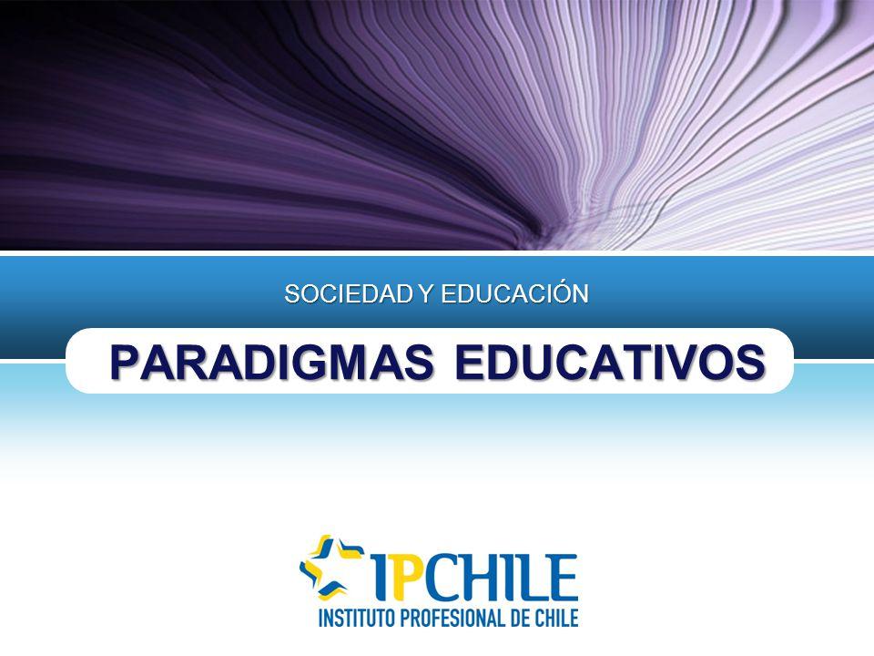 LOGO PARADIGMAS EDUCATIVOS SOCIEDAD Y EDUCACIÓN