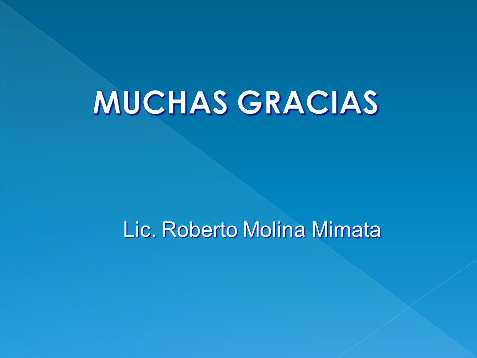 Lic. Roberto Molina Mimata