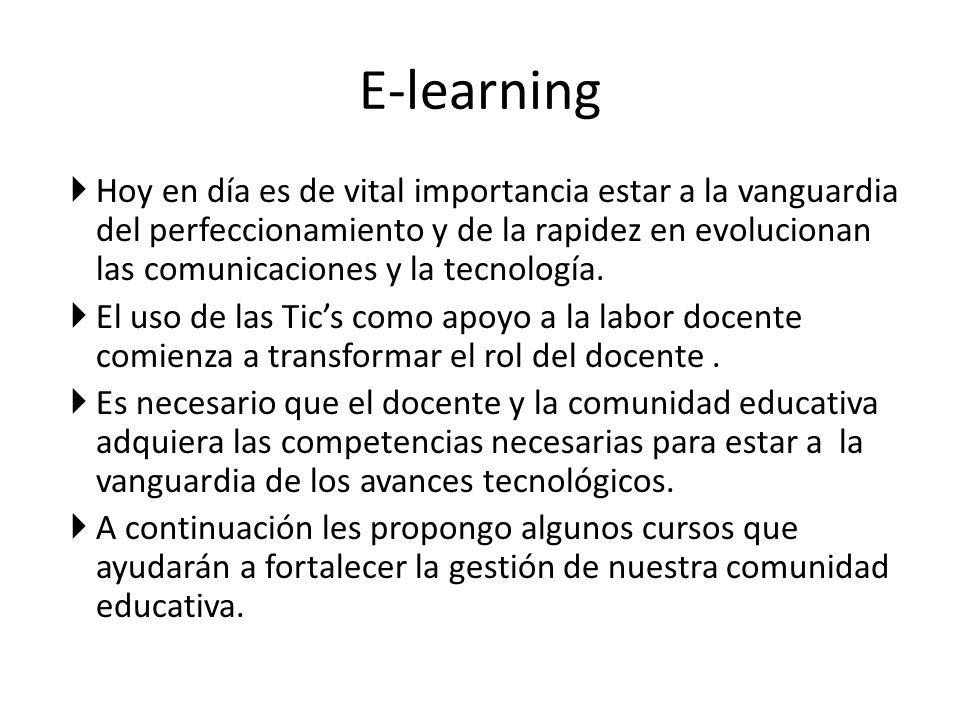 Curso1: b-learning: Fortaleciendo los Conocimientos y Competencias de los Asistentes de la Educación Destinatarios : Asistentes de la educación.