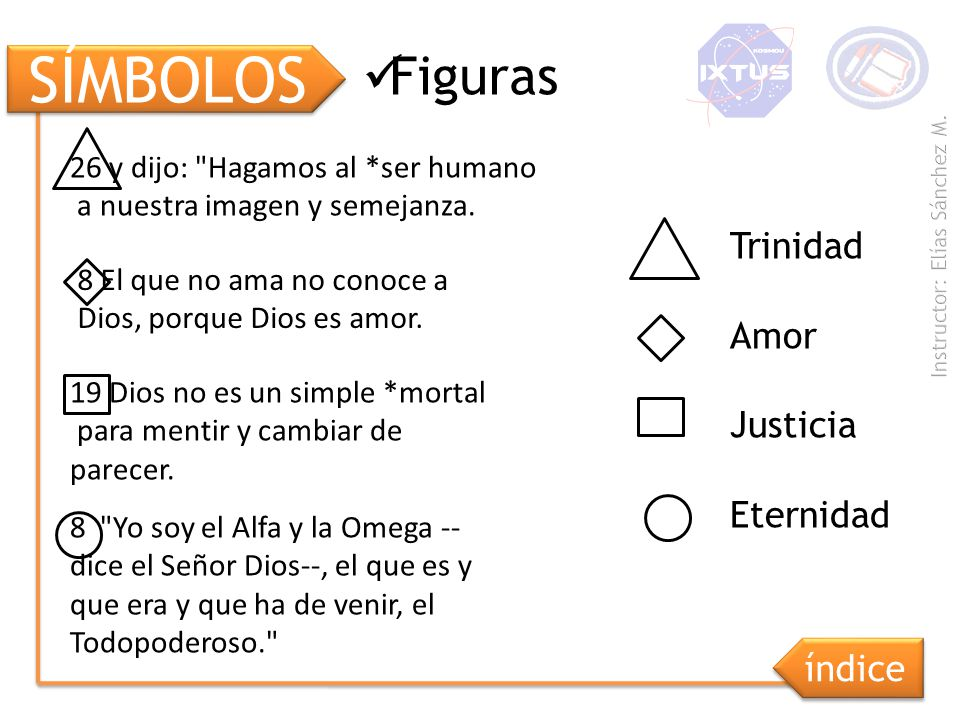 SÍMBOLOS Figuras 26 y dijo: