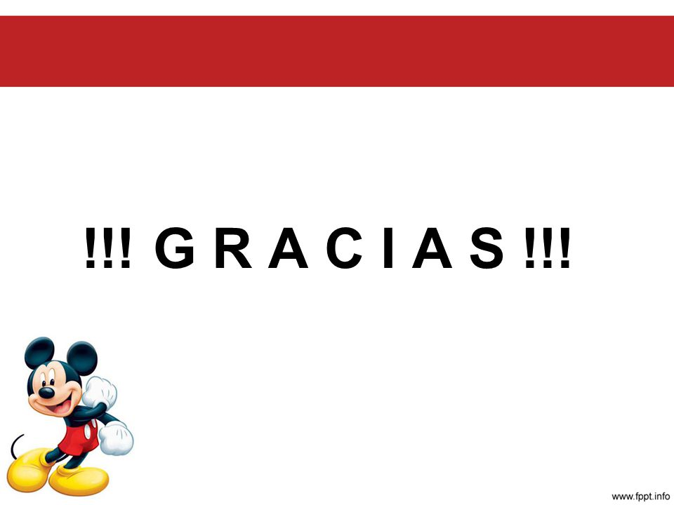 !!! G R A C I A S !!!
