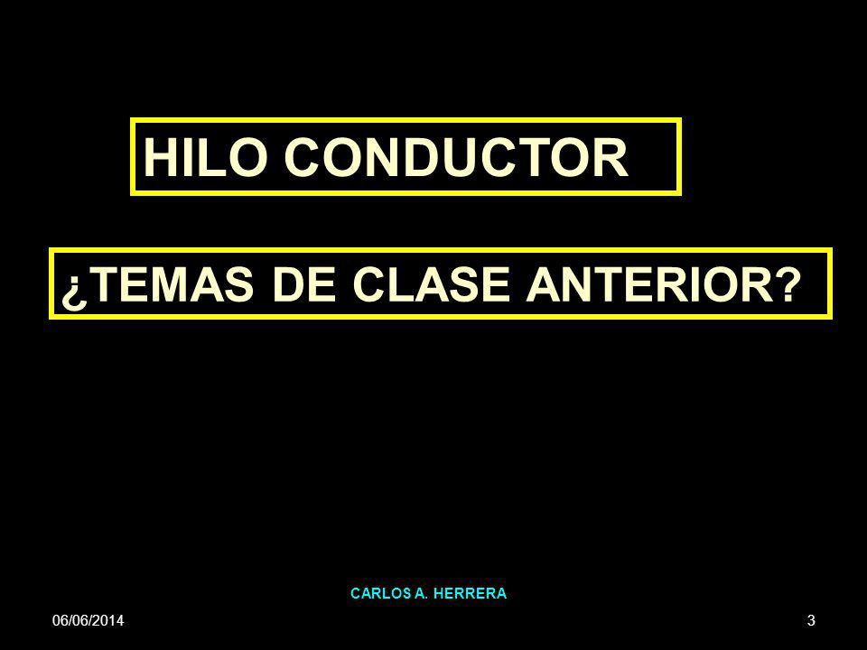 06/06/2014 CARLOS A.HERRERA 4 1)EL VALOR DEL DINERO EN EL TIEMPO.