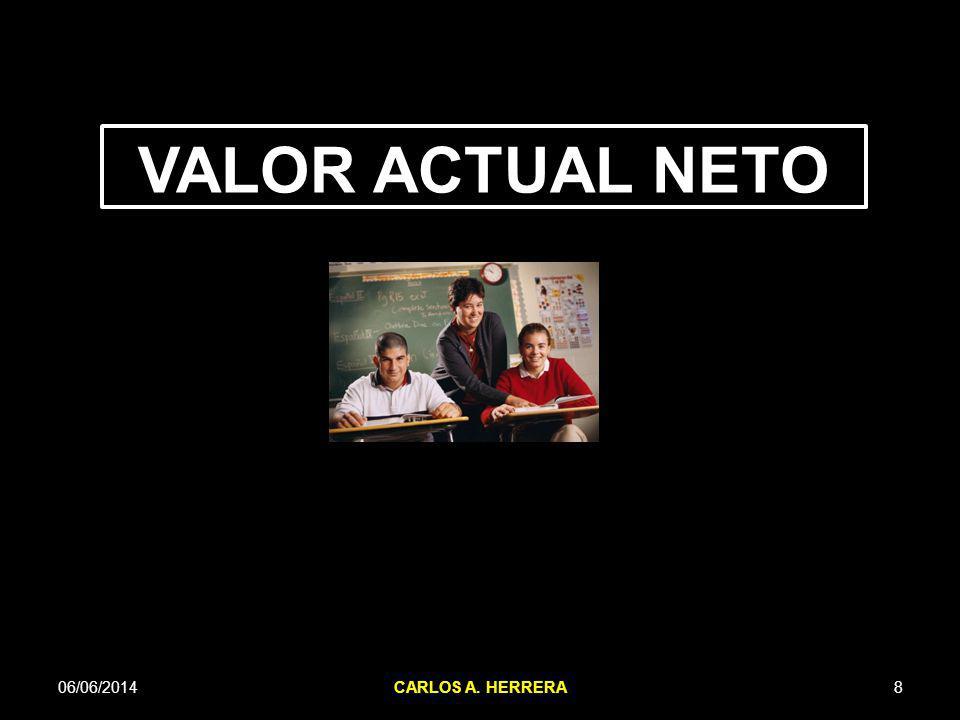 VALOR ACTUAL NETO 06/06/2014 CARLOS A. HERRERA 8