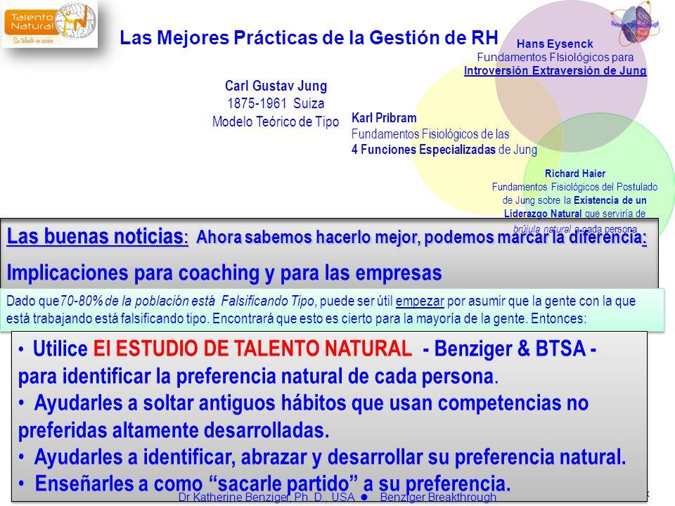 www.talentonatural.com.mx Carl Gustav Jung 1875-1961 Suiza Modelo Teórico de Tipo Las buenas noticias : Ahora sabemos hacerlo mejor, podemos marcar la
