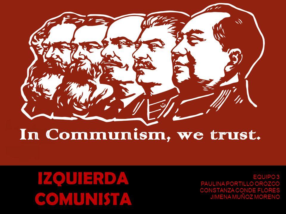 COMUNISMO El comunismo es un movimiento político que promueve la formación de una sociedad sin clases sociales, donde los medios de producción sean de propiedad común.