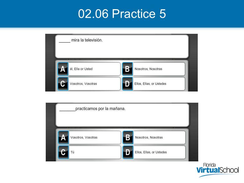 02.06 Practice 5